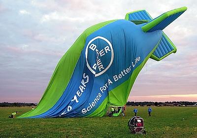 Bayer Luftschiff über München